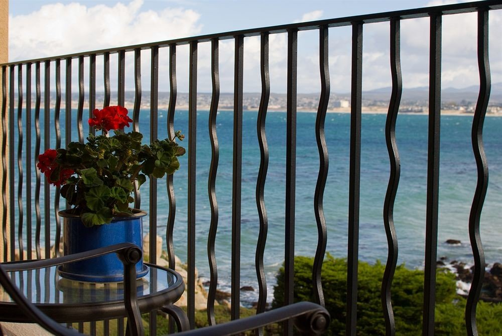 Lounge Luxury Scenic views Balcony Fence outdoor structure flower