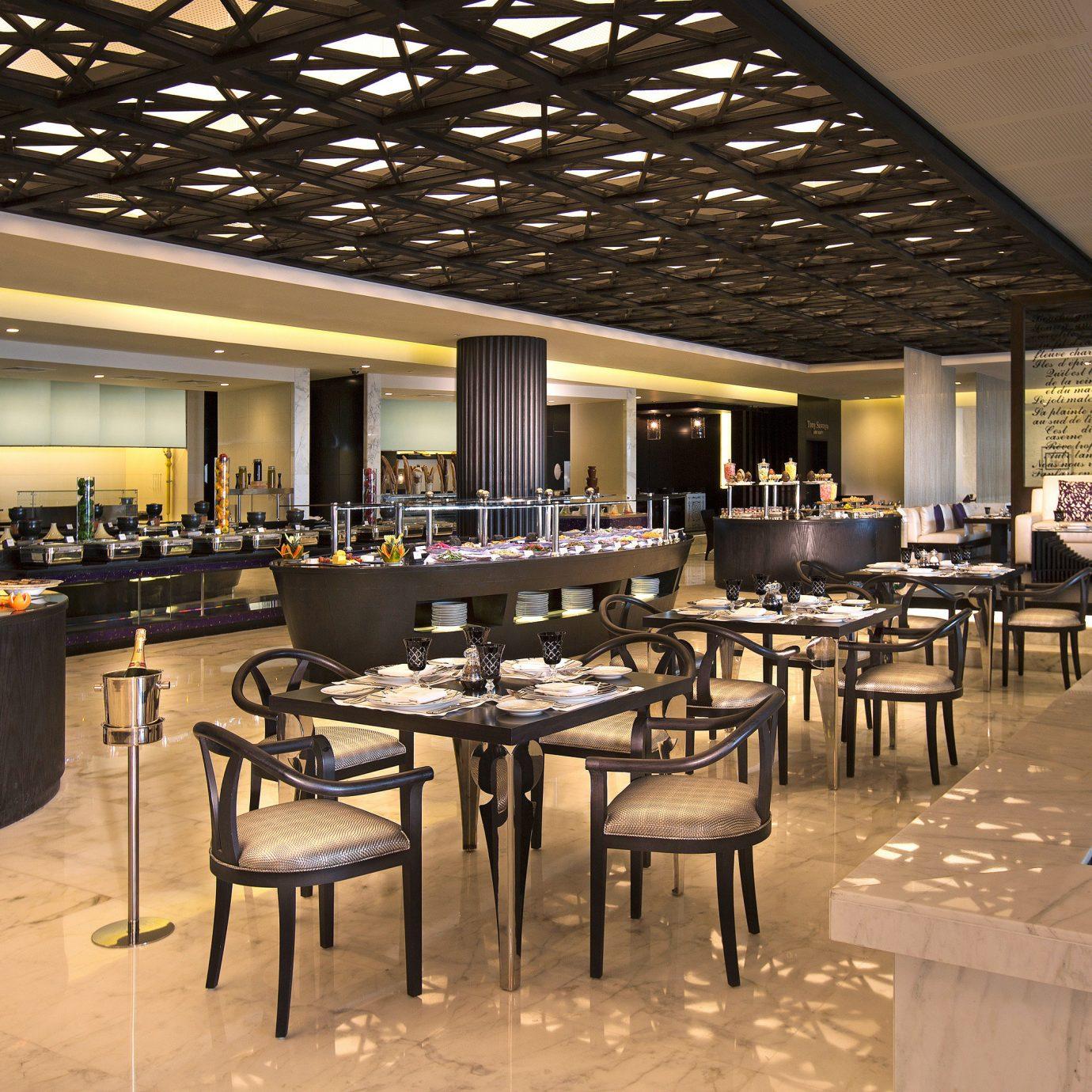 Business City Dining Modern Spa chair restaurant function hall café convention center Resort cafeteria Lobby Bar ballroom set Island