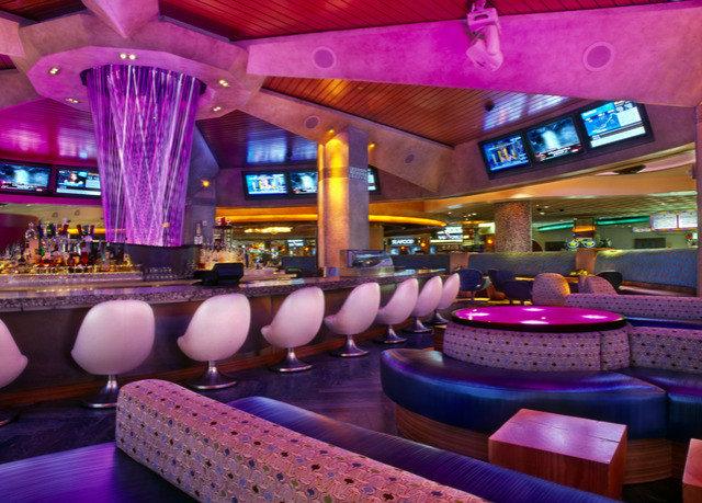 nightclub Bar function hall restaurant purple colorful