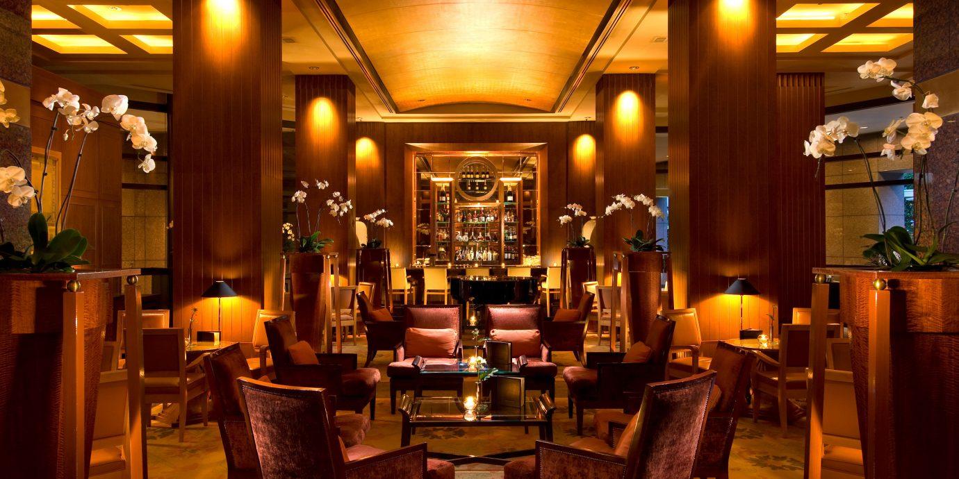 Bar Dining Drink Eat Hip Luxury Modern Romantic chair restaurant lighting function hall Lobby café