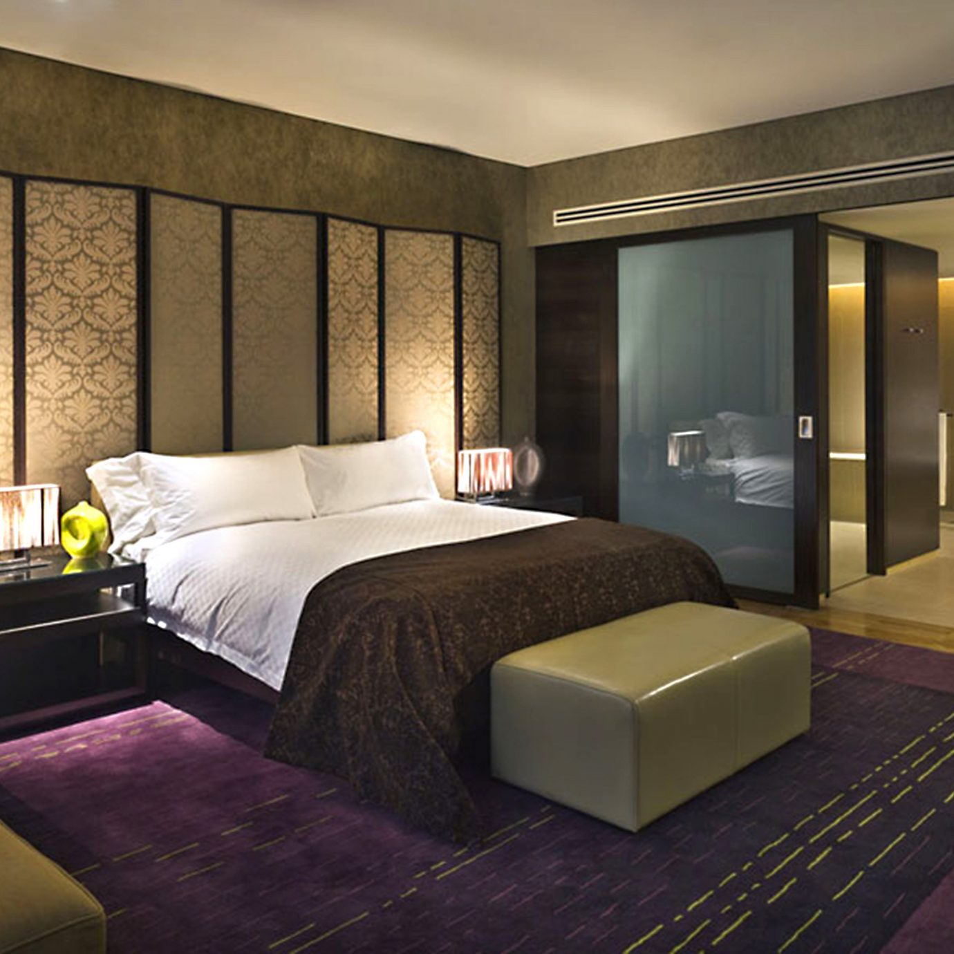 Bath Bedroom Luxury Modern Suite sofa property living room condominium