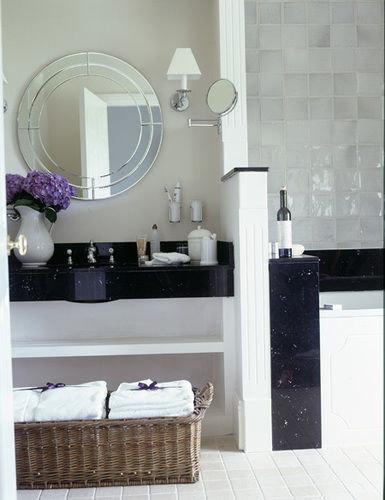 bathroom plumbing fixture bathroom cabinet bidet bathtub flooring sink tile