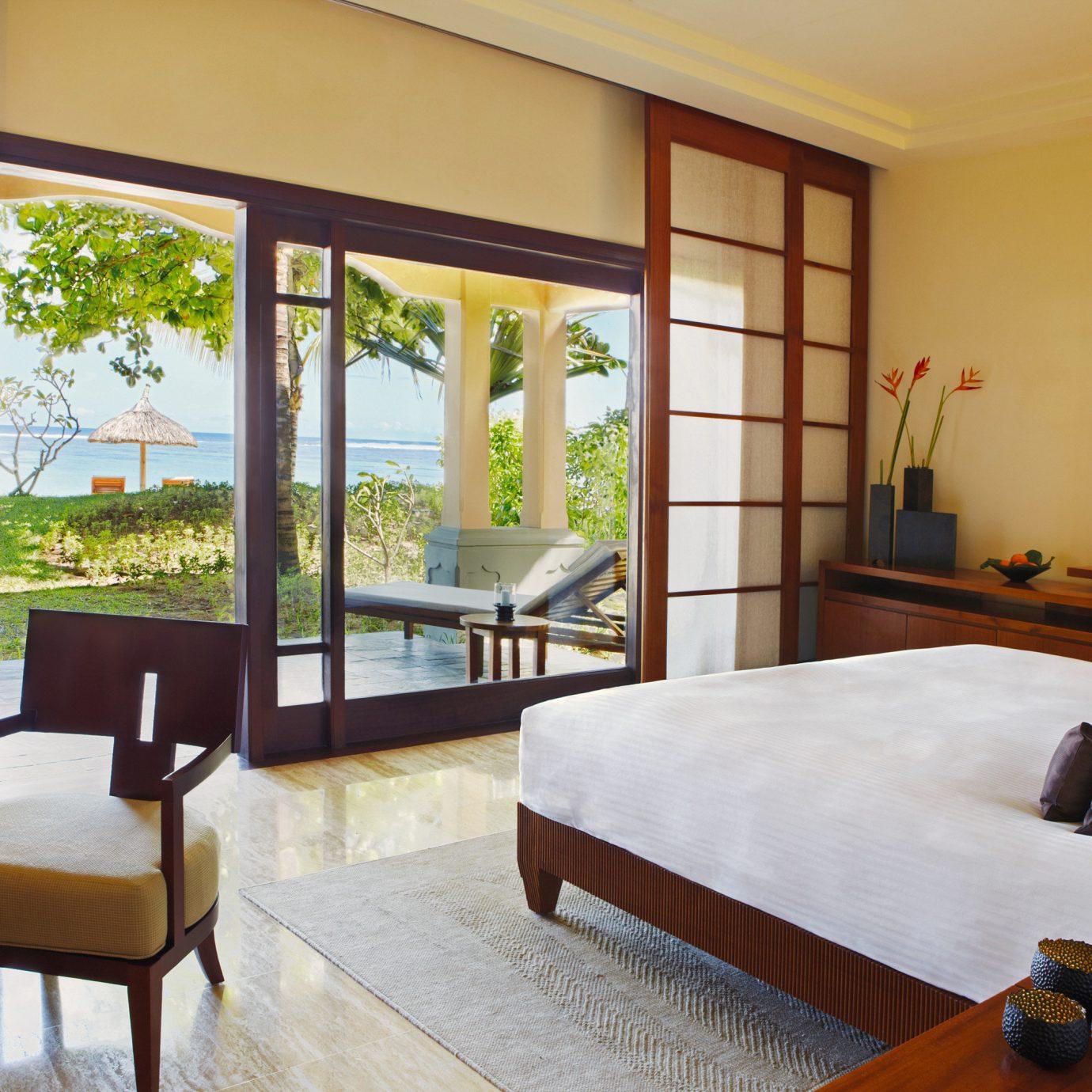 Beachfront Bedroom Island Luxury Romance Romantic property home living room Suite Resort Villa condominium cottage
