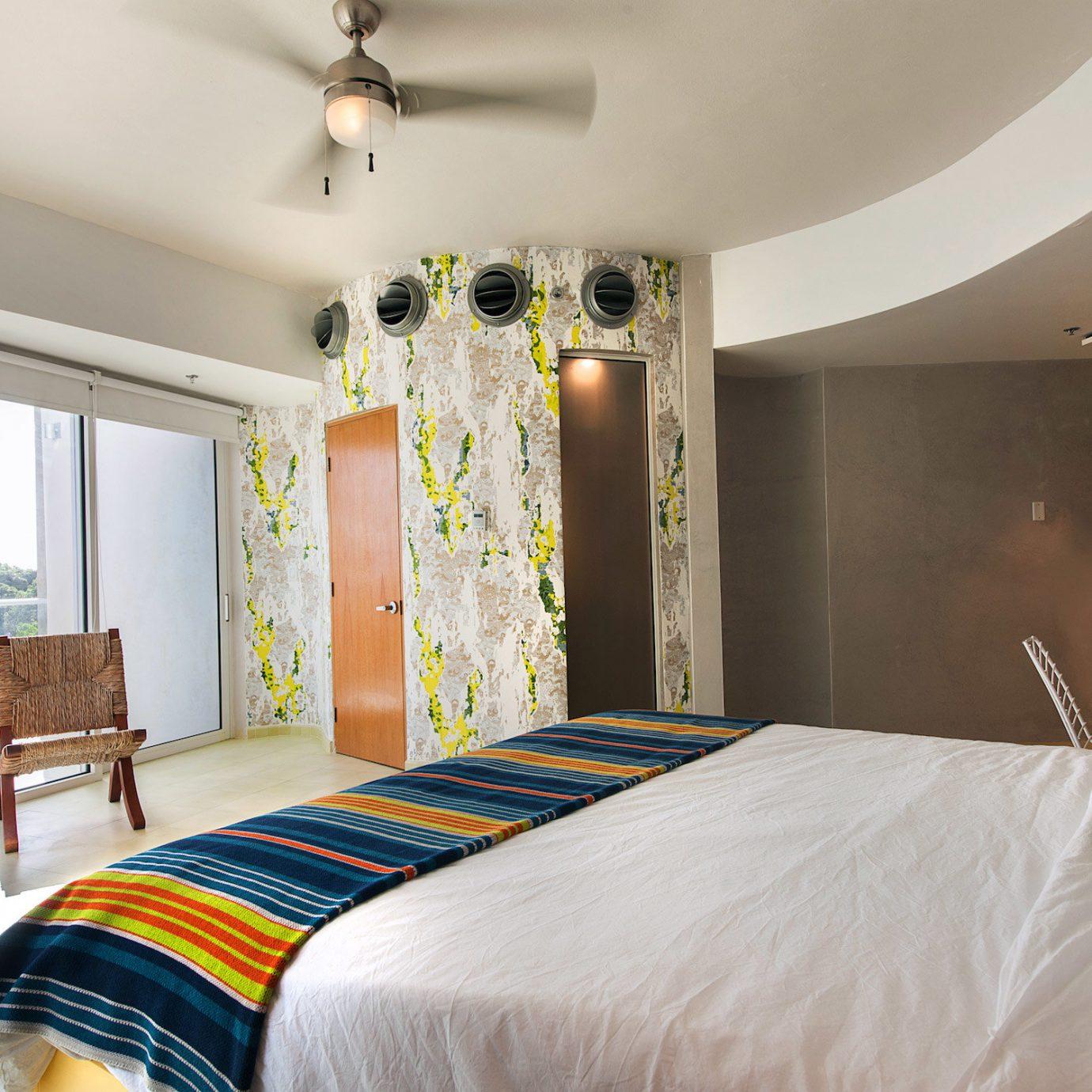 Boutique Hip Modern Trip Ideas Bedroom property scene Suite cottage bed sheet