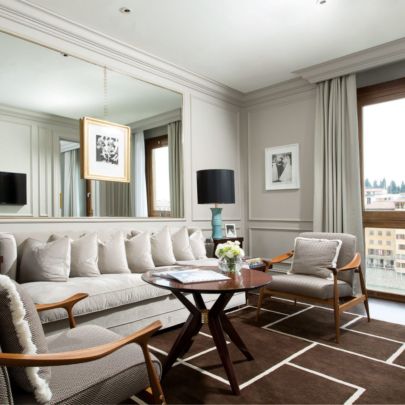 Classic Luxury Suite living room chair property home condominium hardwood Bedroom