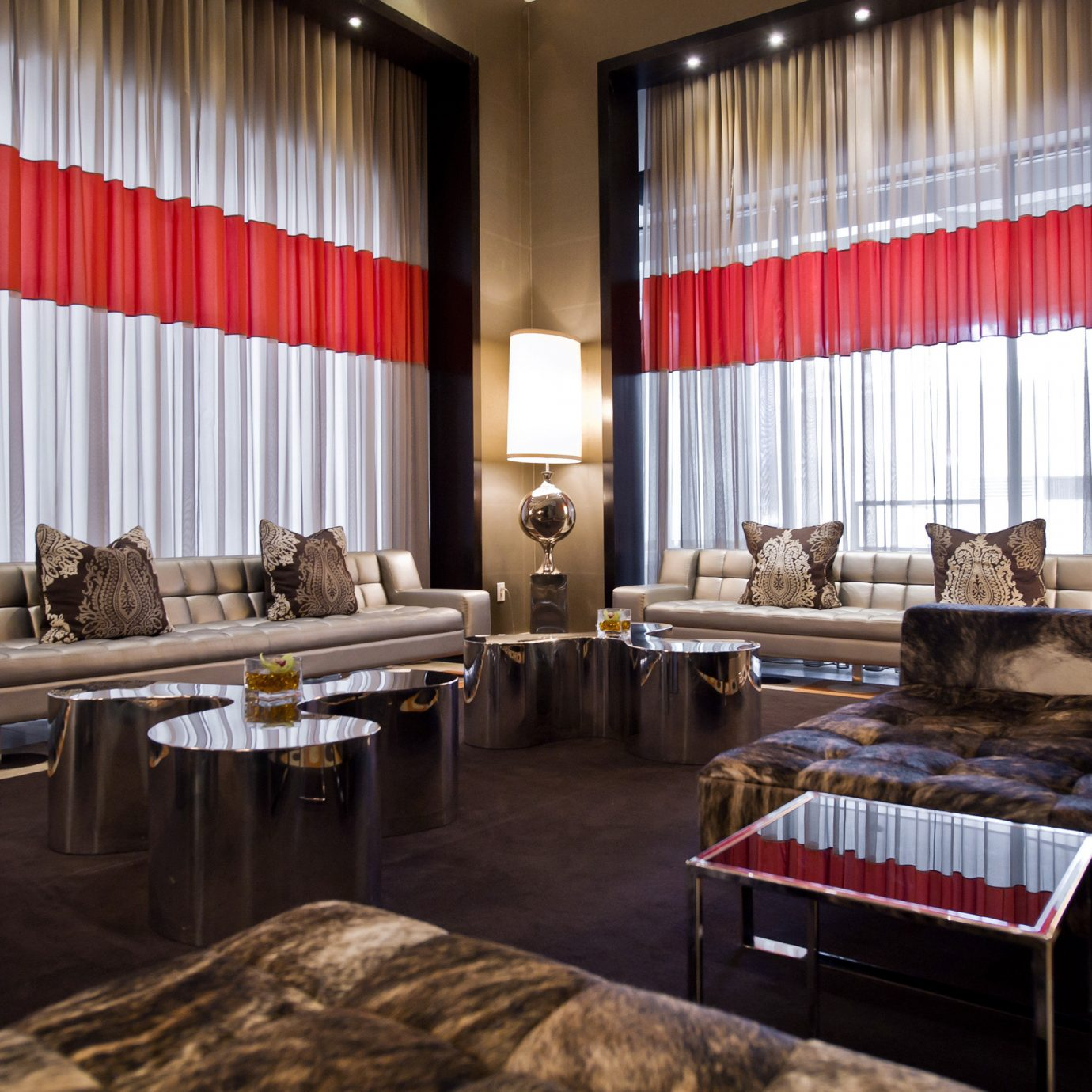Dining Drink Eat Hip Lounge Modern curtain Lobby living room Bedroom