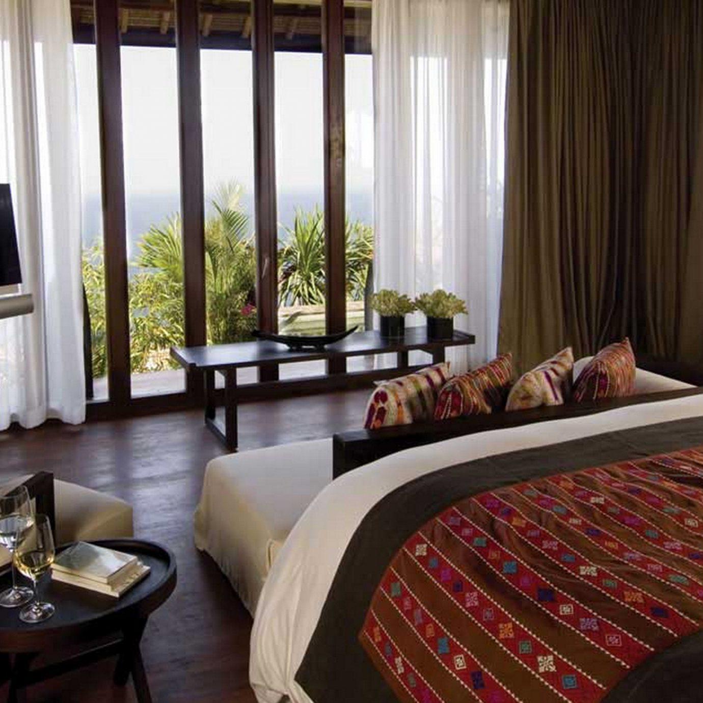 Bedroom Hip Luxury Modern Suite curtain chair property cottage home Resort living room condominium
