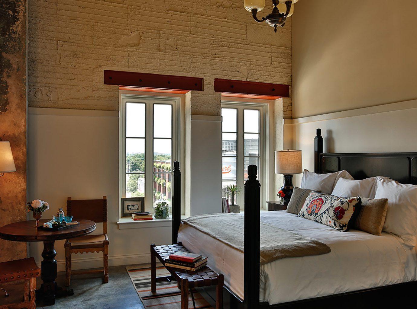 Bedroom at Hotel Emma in San Antonio