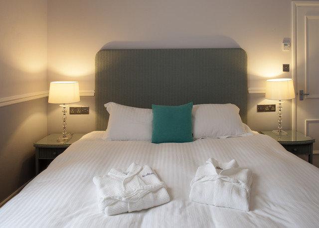 sofa Bedroom scene Suite pillow bed sheet bed frame cottage night lamp