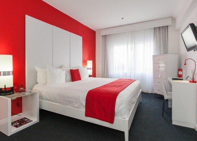 red property Bedroom Suite white cottage bed sheet living room