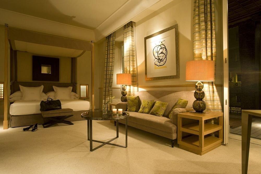 living room property home hardwood condominium mansion wood flooring Villa Suite Bedroom lamp
