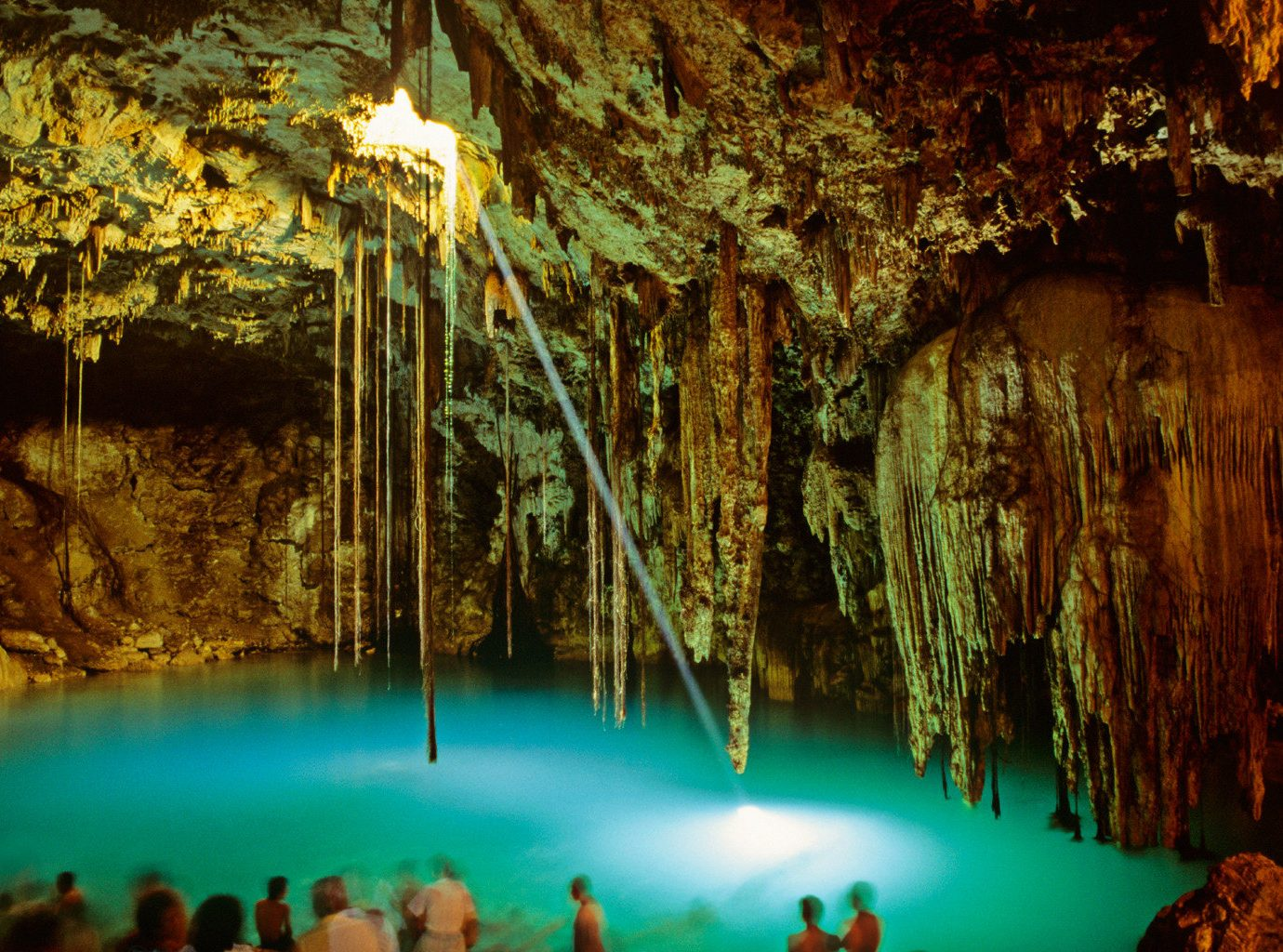 Adventure cenote Chichen Itza Cultural Outdoor Activities Scenic views Trip Ideas cave geographical feature Nature landform reflection formation Jungle