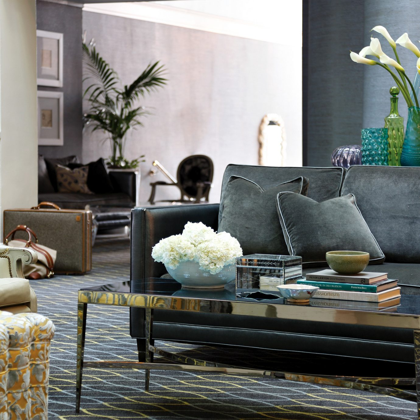 Boutique City Historic Lobby Lounge living room home