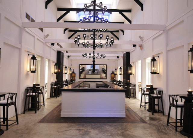 property Lobby Boutique lighting mansion