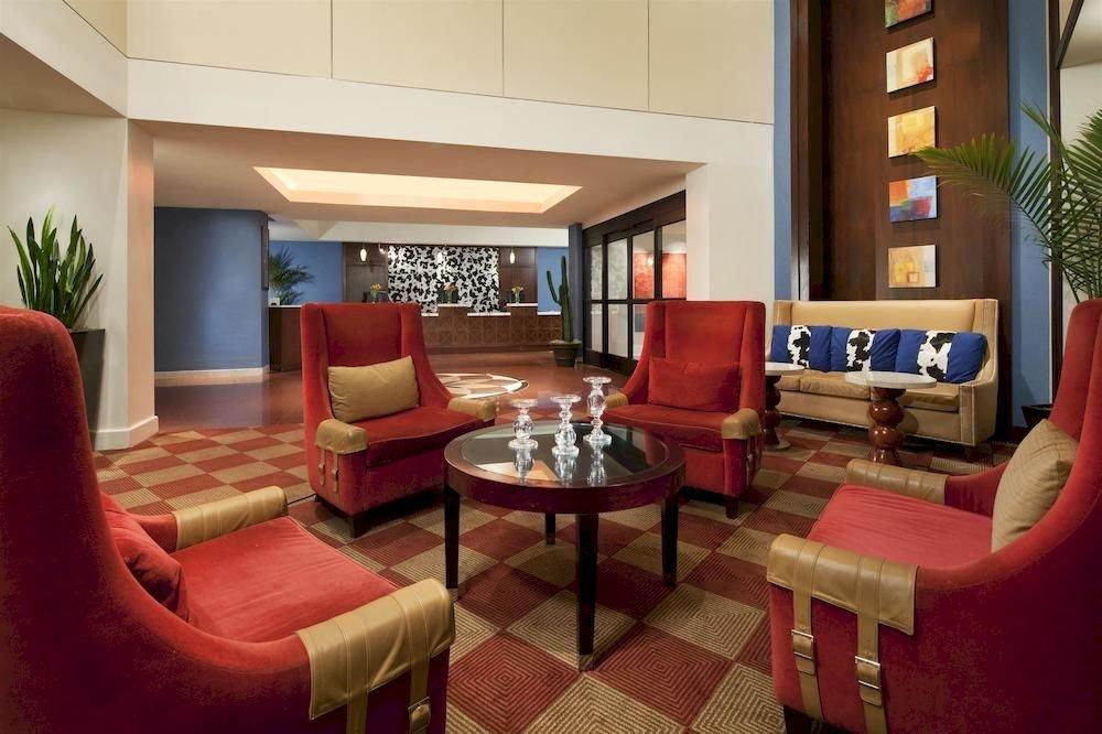 Budget red property chair living room condominium Suite Lobby Resort home Villa set