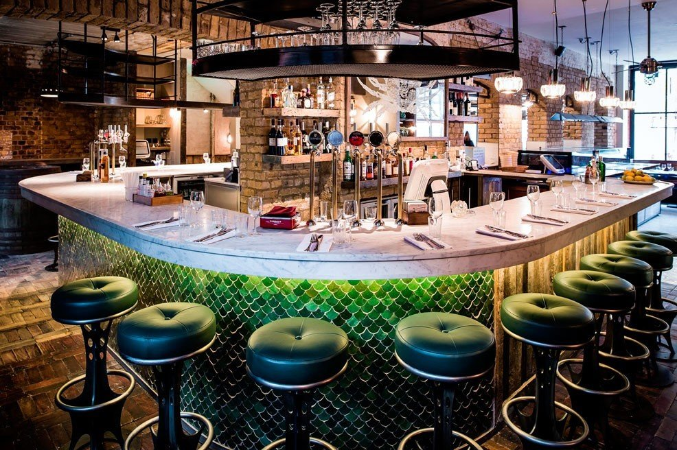 Food + Drink meal restaurant Bar interior design Resort