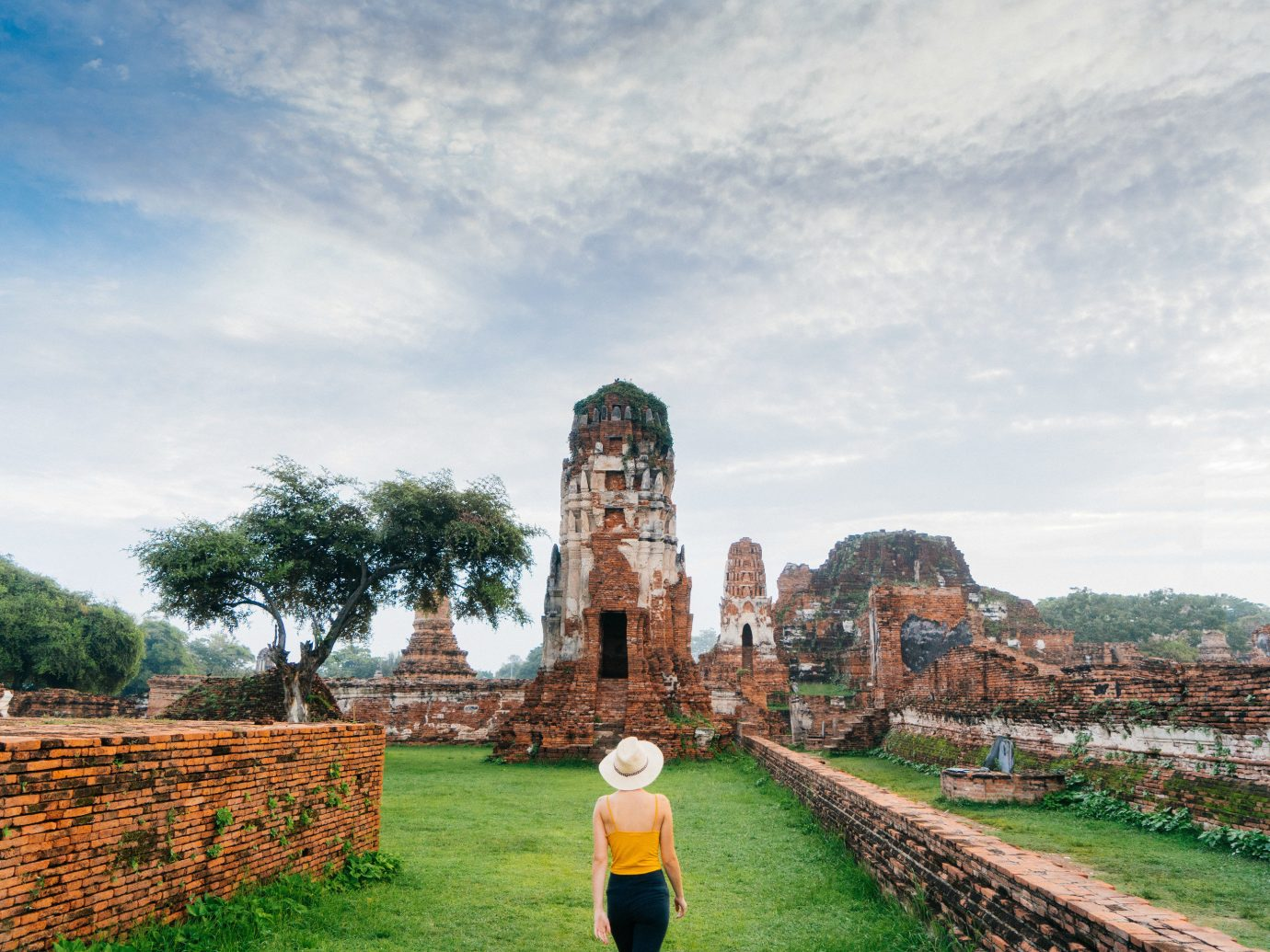 Jetsetter Guides outdoor grass sky landmark tourism vacation Ruins ancient history rural area place of worship travel temple