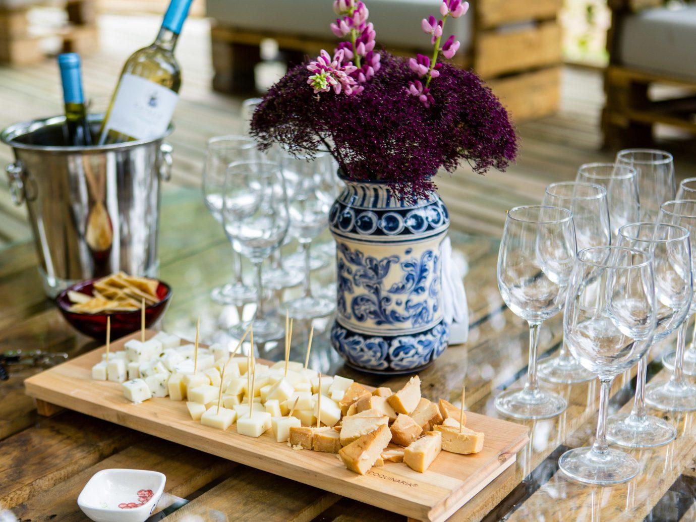table food brunch tableware finger food centrepiece flavor snack drinkware several dining table
