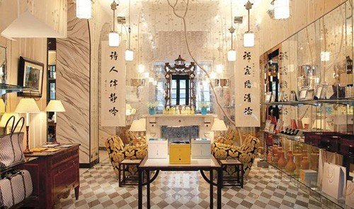 Jetsetter Guides indoor floor room property dining room interior design estate restaurant Lobby Boutique area furniture tiled