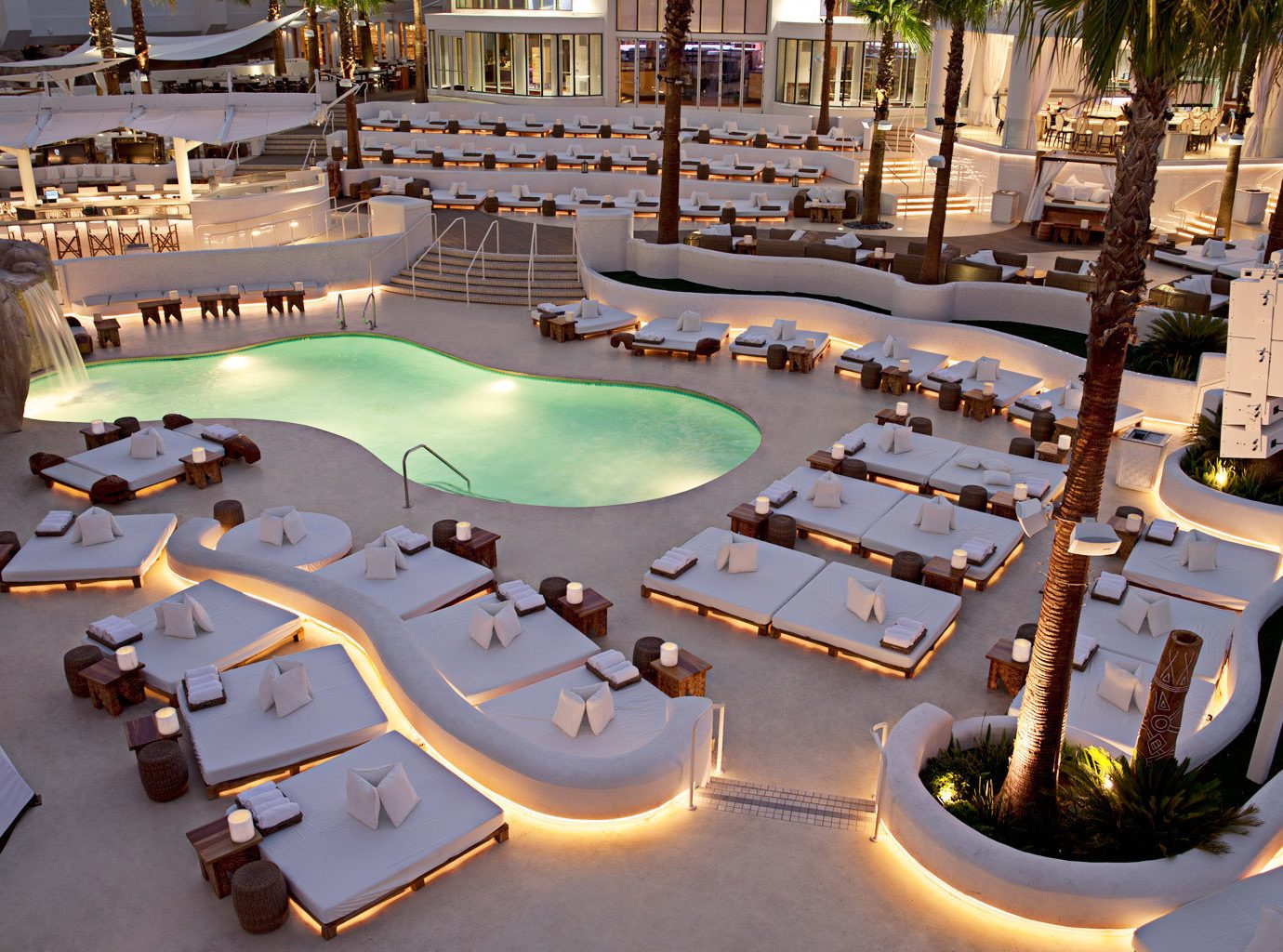 Casino Classic Grounds Modern Pool Resort leisure swimming pool plaza mansion