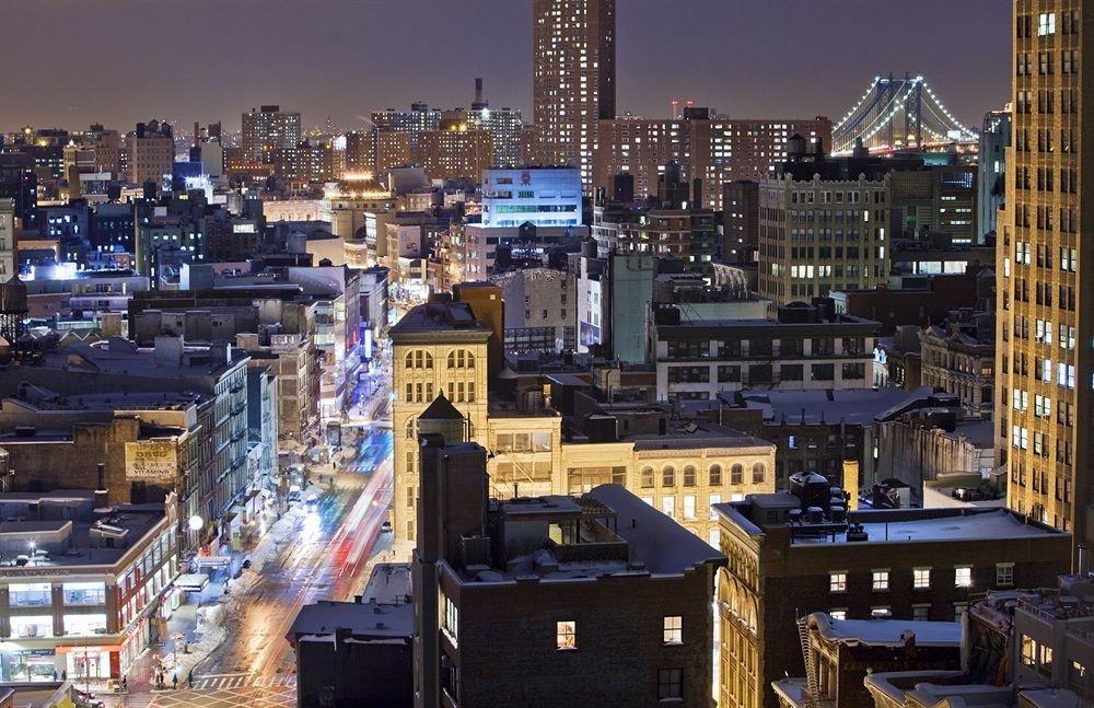 building metropolitan area metropolis cityscape City skyline skyscraper night Downtown neighbourhood evening residential area