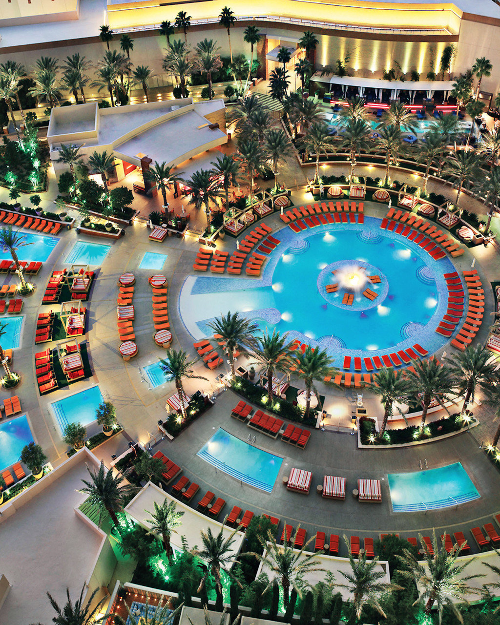 City Lounge Nightlife Play Pool Resort leisure Water park amusement park shopping mall colorful surrounded