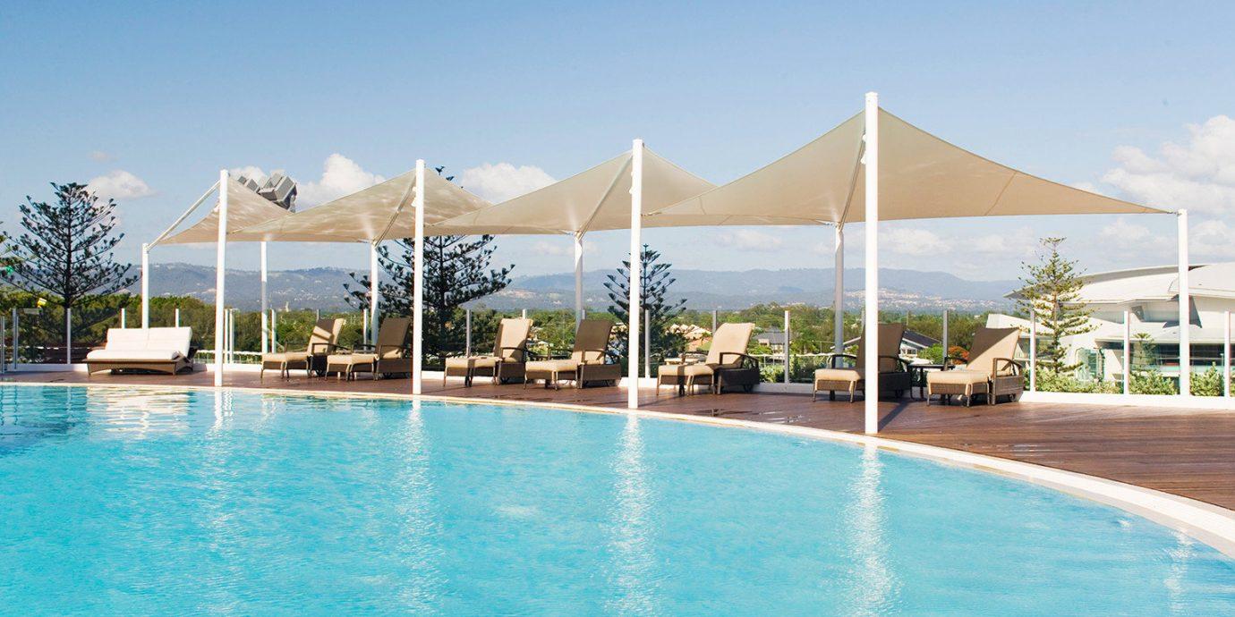 City Pool Scenic views sky water swimming pool property leisure Resort leisure centre swimming condominium blue empty shore day