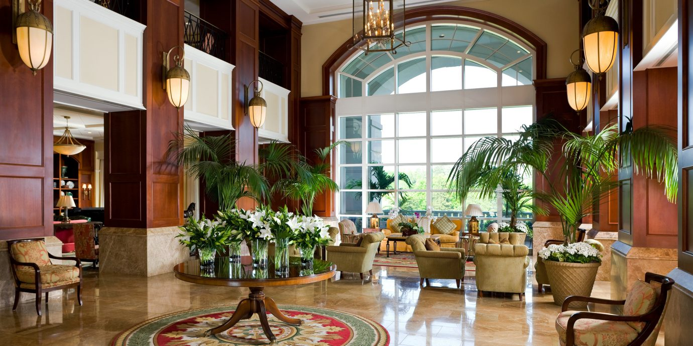 Classic Lobby Lounge Luxury property home condominium living room Courtyard mansion restaurant