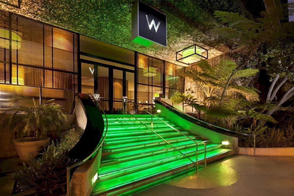leisure green building Resort lighting screenshot mansion Courtyard condominium swimming pool landscape lighting backyard Villa