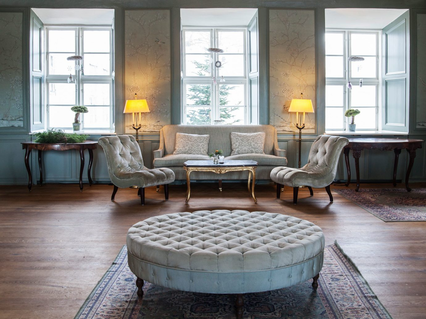 Denmark Finland Hotels Landmarks Luxury Travel Sweden floor indoor window room Living furniture living room table chair interior design flooring coffee table home hardwood wood flooring couch dining room loveseat wood area