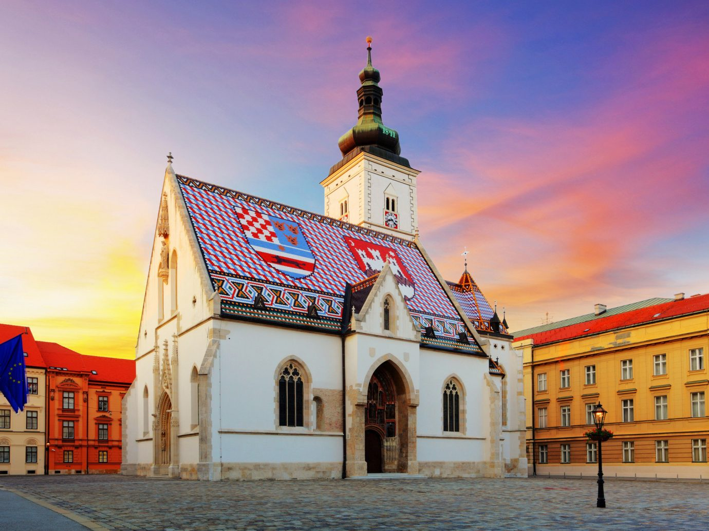 Trip Ideas outdoor sky landmark building Town Church place of worship facade evening cathedral tower monastery basilica old