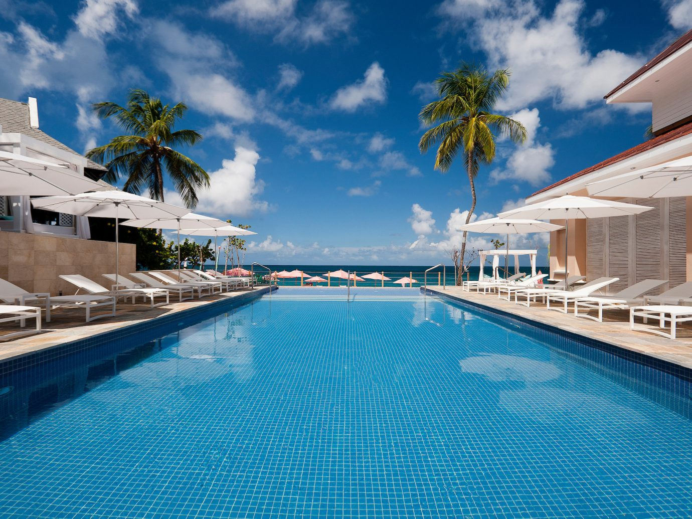 Pool at BodyHoliday, St. Lucia