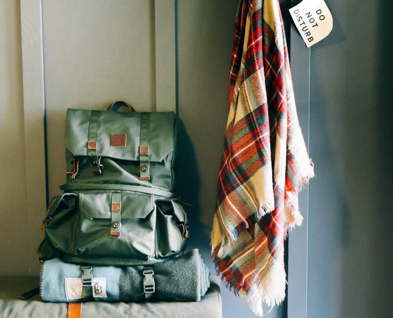 Jetsetter Guides Road Trips color room indoor furniture interior design Design shelf textile table rack colored