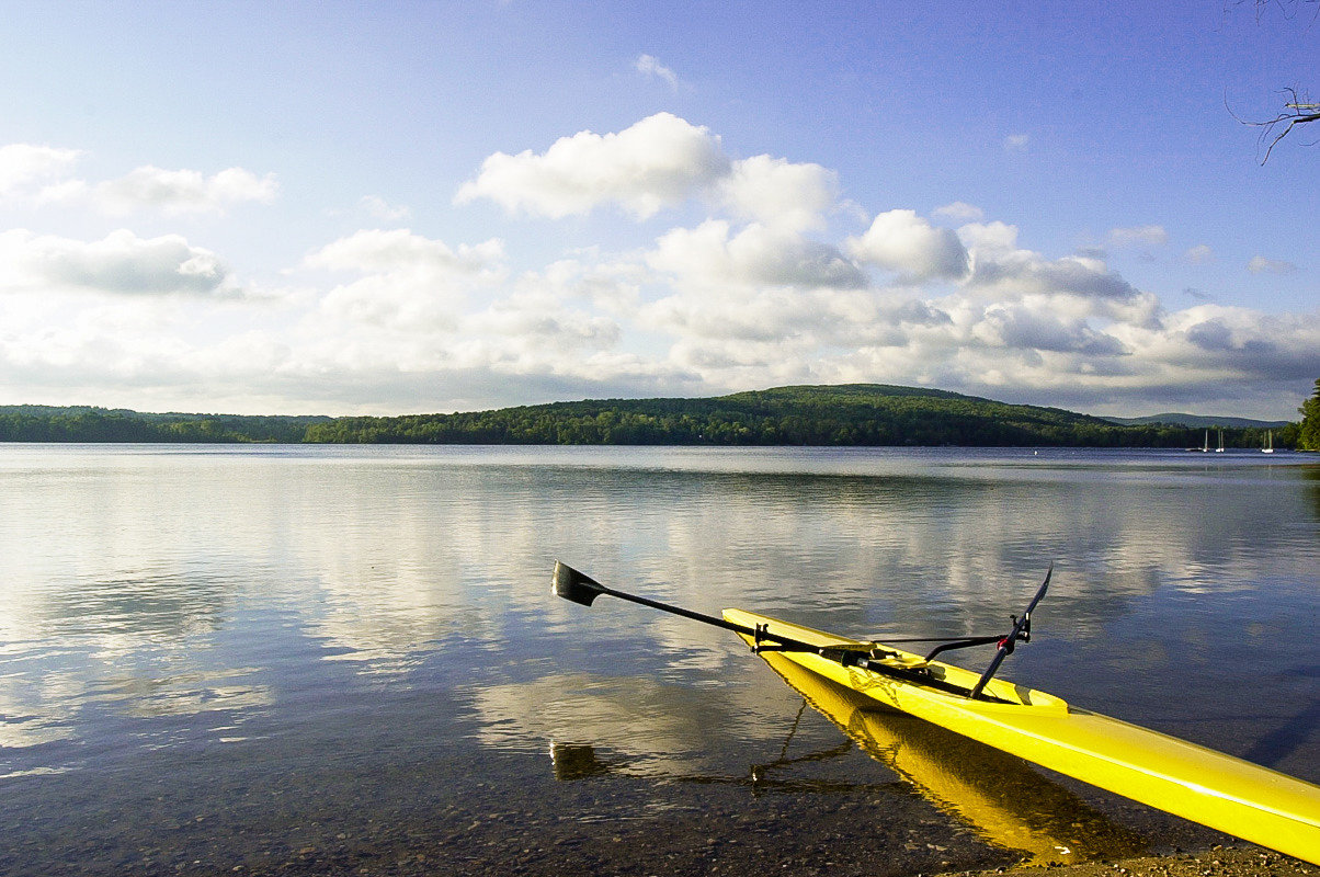 Kayaking in The Berkshires, Massachusetts