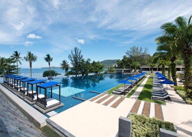 sky tree swimming pool property Resort leisure condominium Villa Pool marina lined Deck shore