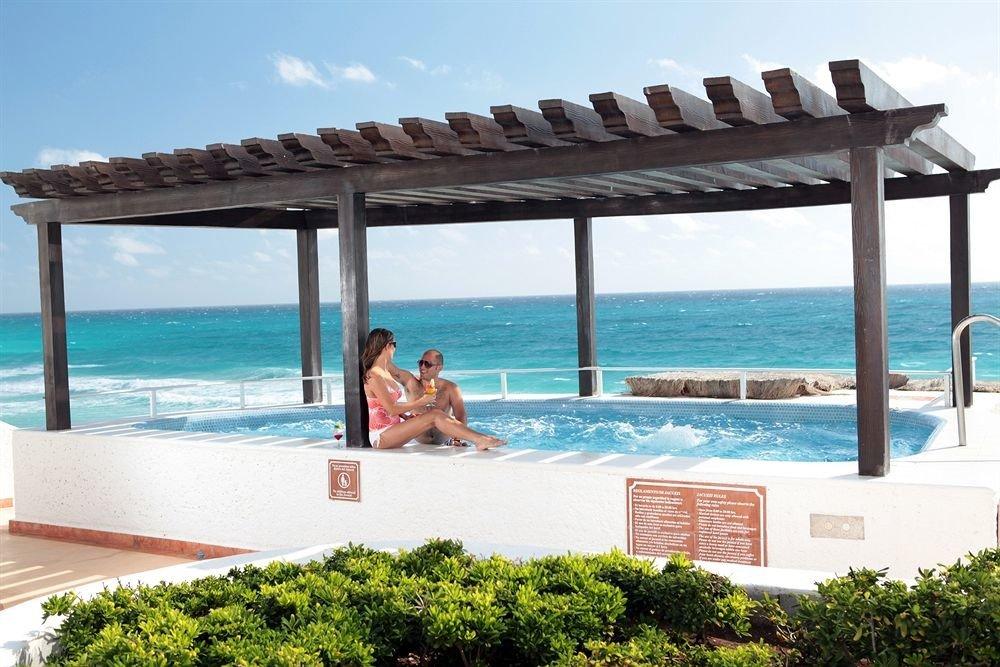 sky water swimming pool property leisure Deck Villa Resort shore condominium outdoor structure overlooking