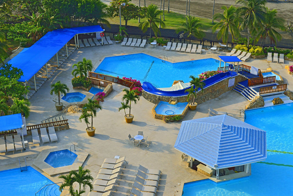 tree Water park amusement park swimming pool leisure chair Resort park blue Deck