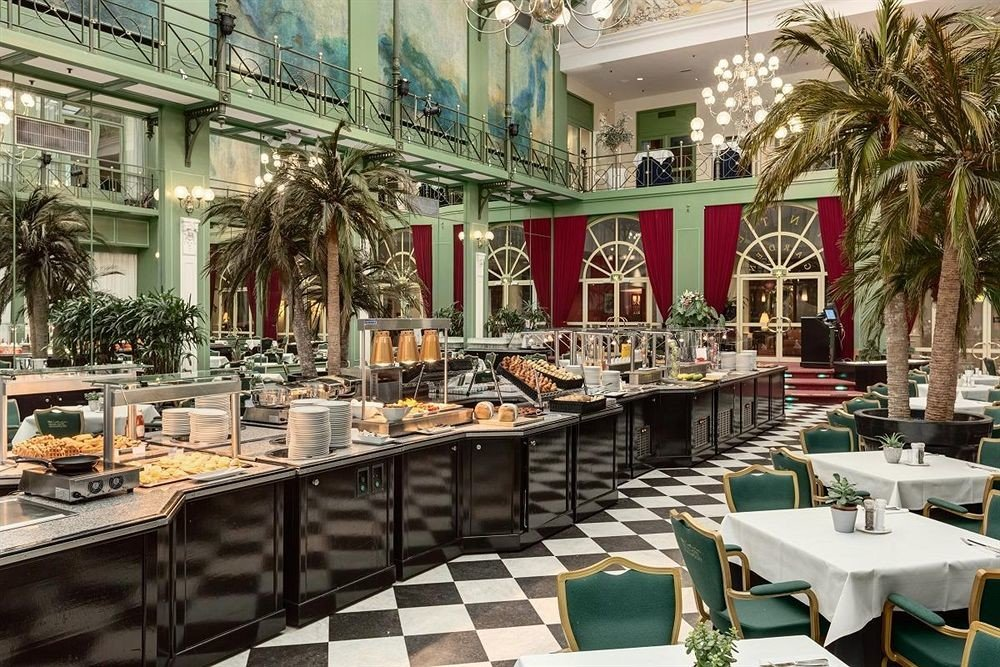 restaurant Dining plaza palace set dining table