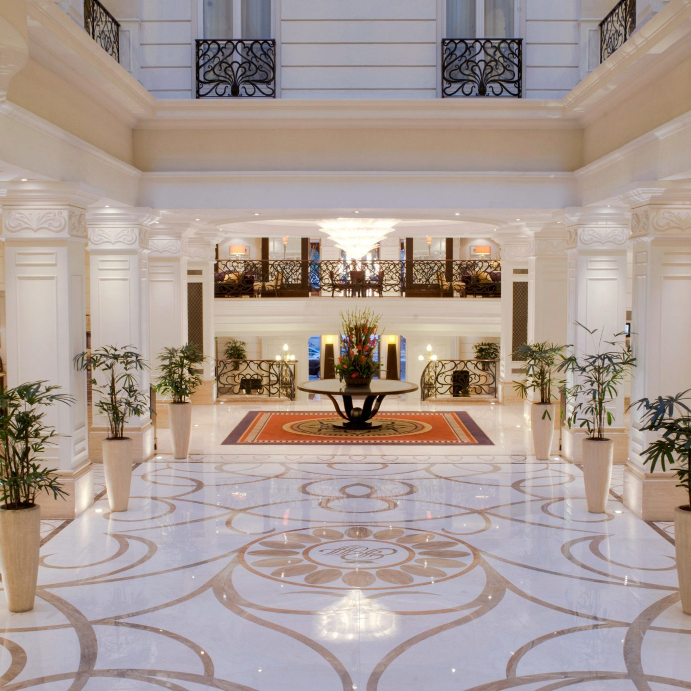 Lobby property mansion palace white living room home flooring ballroom function hall hall Dining fancy