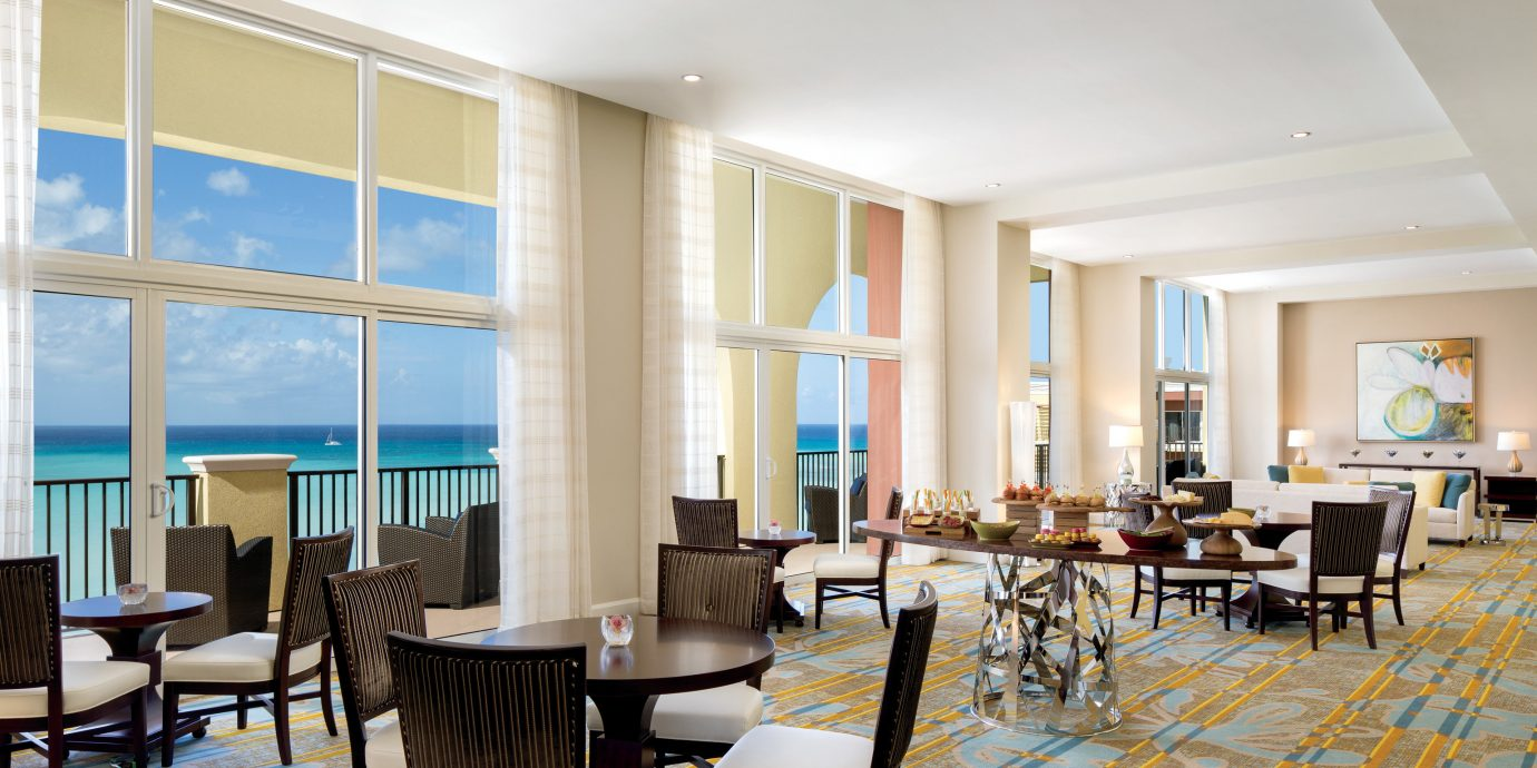 chair restaurant Lobby Dining penthouse apartment living room Suite flooring overlooking