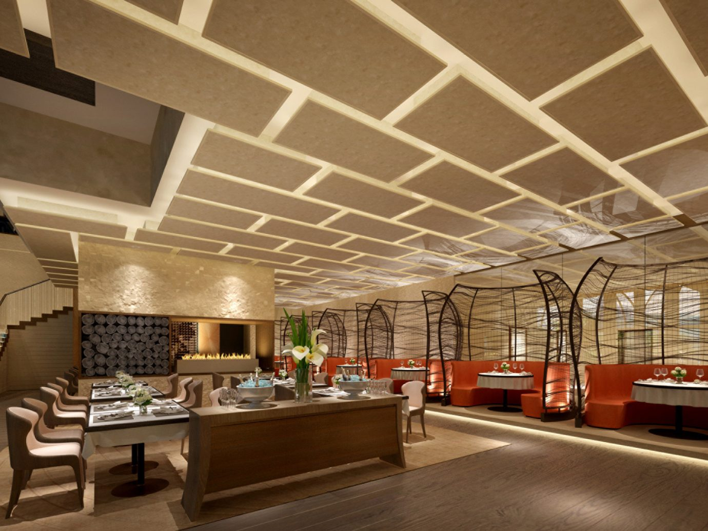 Hotels Romance indoor floor room building ceiling Architecture Lobby interior design estate lighting Design window covering area furniture