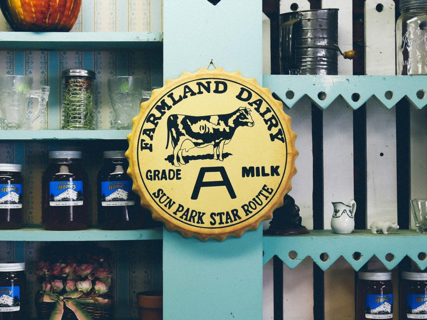 Jetsetter Guides Road Trips color blue art beer interior design Design restaurant sign