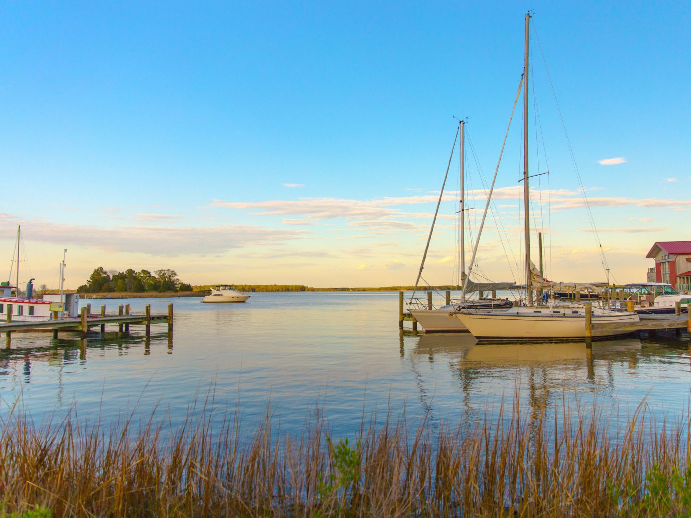 Romance Trip Ideas Weekend Getaways water outdoor sky Boat Nature reflection waterway marina calm scene evening morning Harbor Lake River dock loch cloud Sea shore tree horizon dawn wetland landscape docked reservoir lake district Sunset dusk bay tourism inlet Coast sunrise day tied