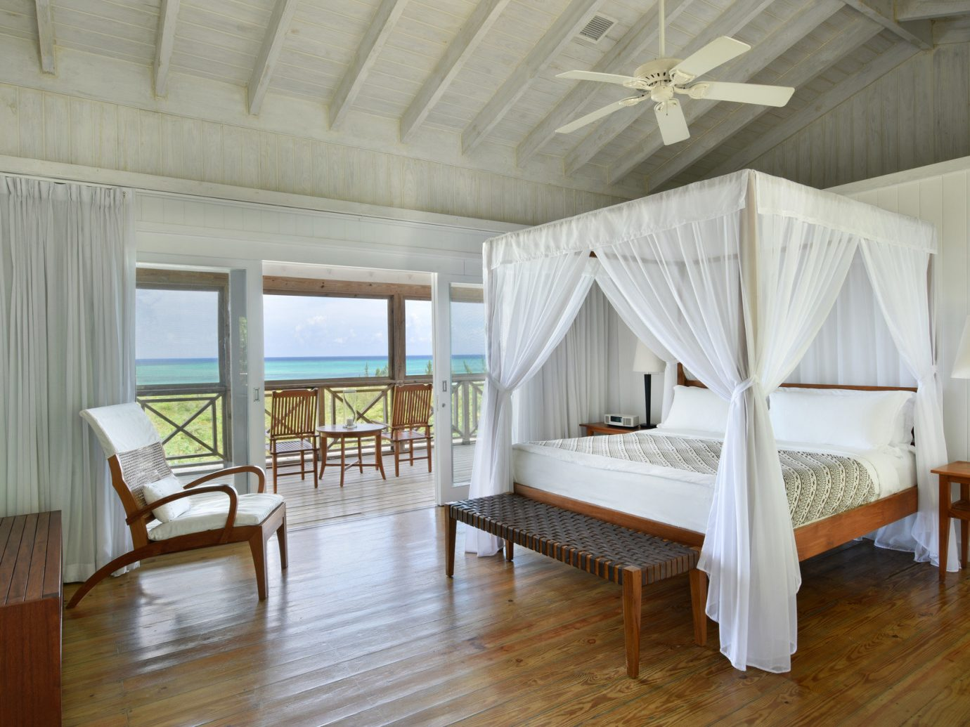 Bedroom At All-Inclusive Como Parrot Cay In Turks And Caicos