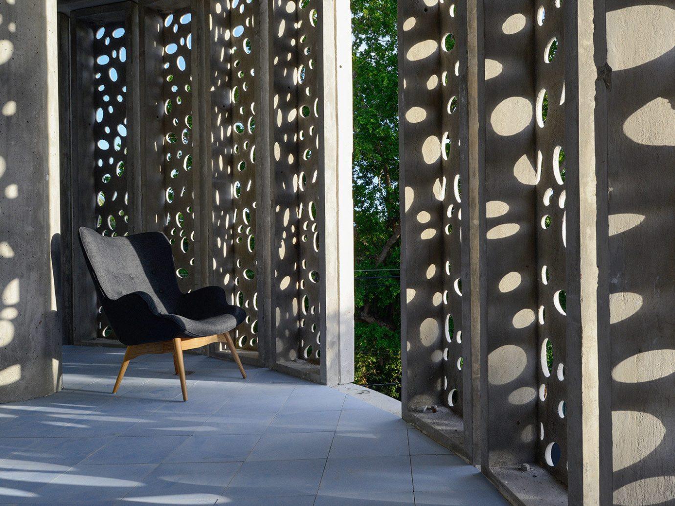 Boutique Design Hip Hotels Modern black light interior design lighting furniture material