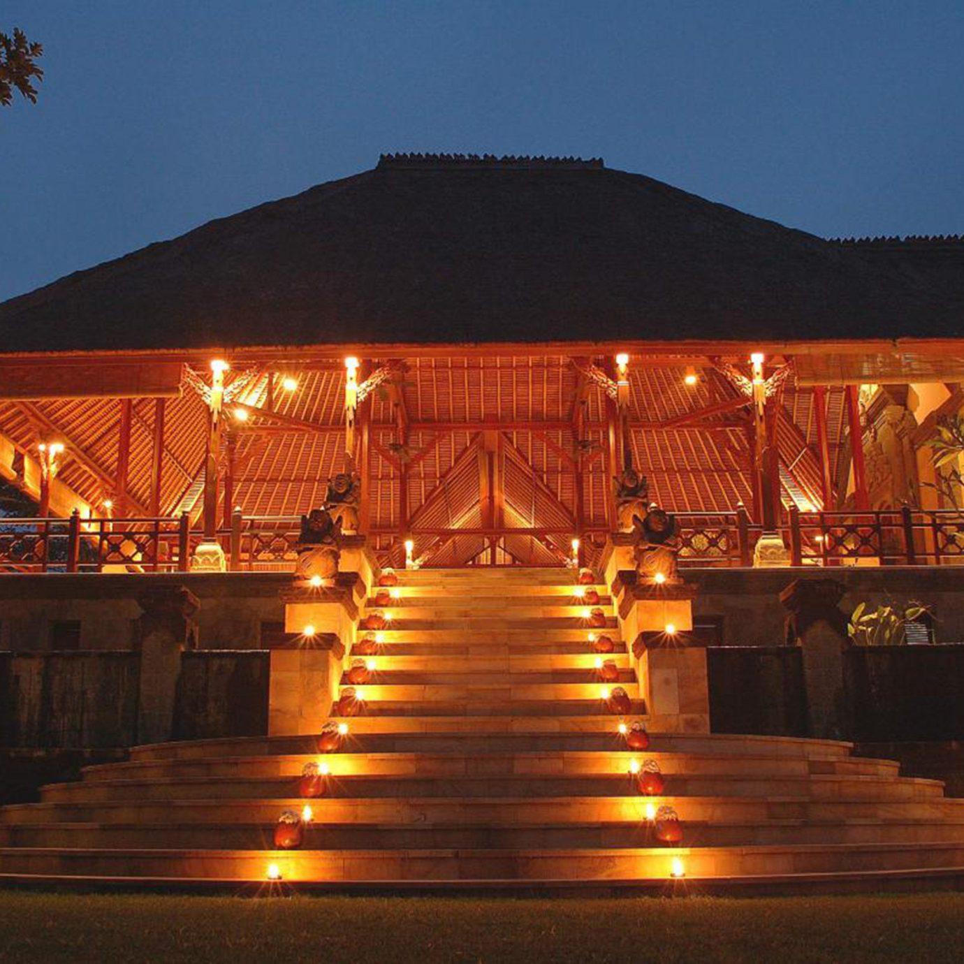 Exterior Grounds Honeymoon Luxury sky night christmas decoration evening lighting christmas lights