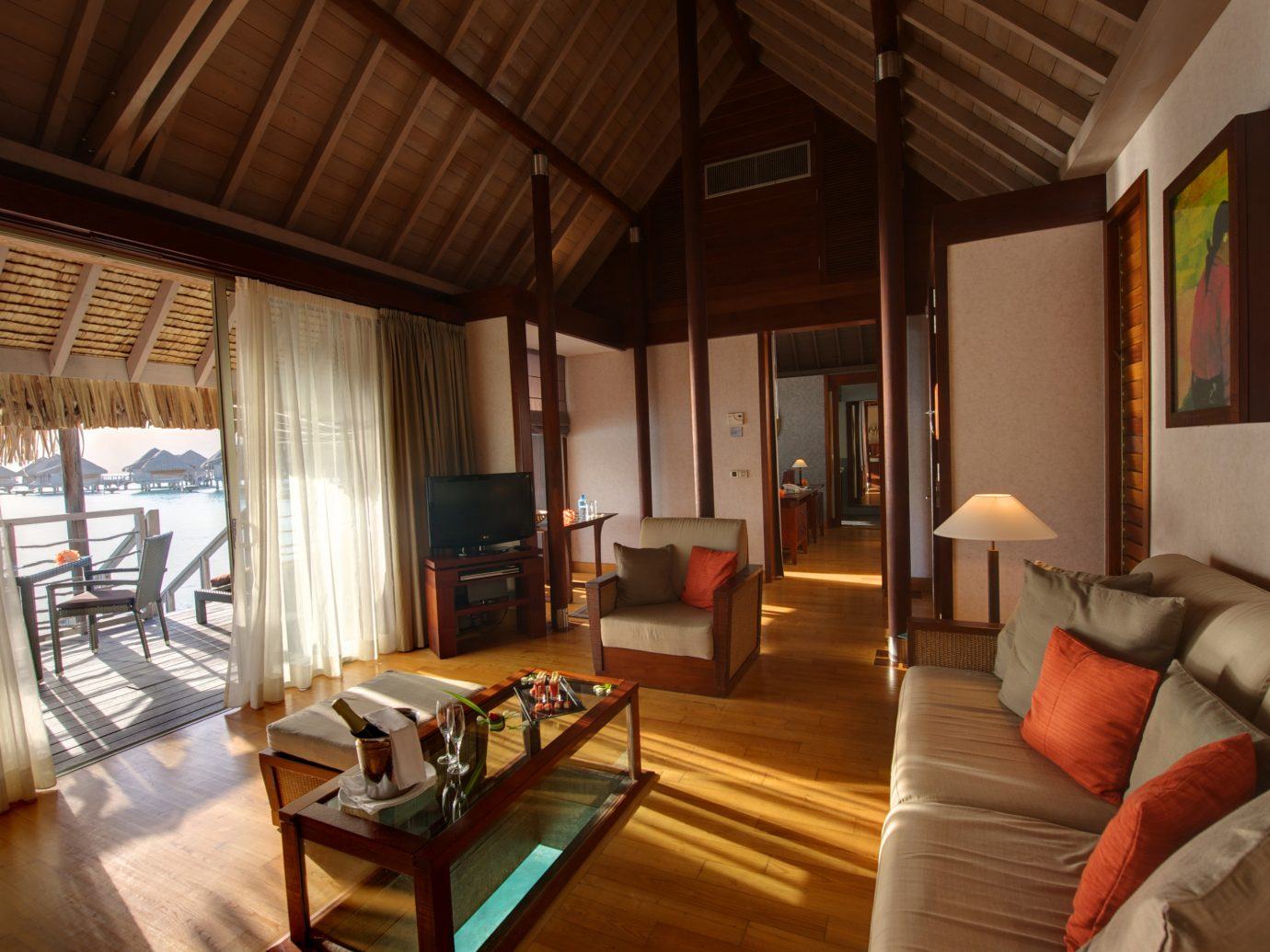 All-Inclusive Resorts Boutique Hotels Hotels Romance indoor room sofa floor Living living room interior design real estate Suite ceiling furniture house hardwood area