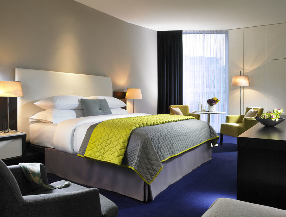Dublin Hotels Ireland wall indoor room hotel bed ceiling Bedroom desk Suite interior design lamp bed sheet living room bed frame furniture area