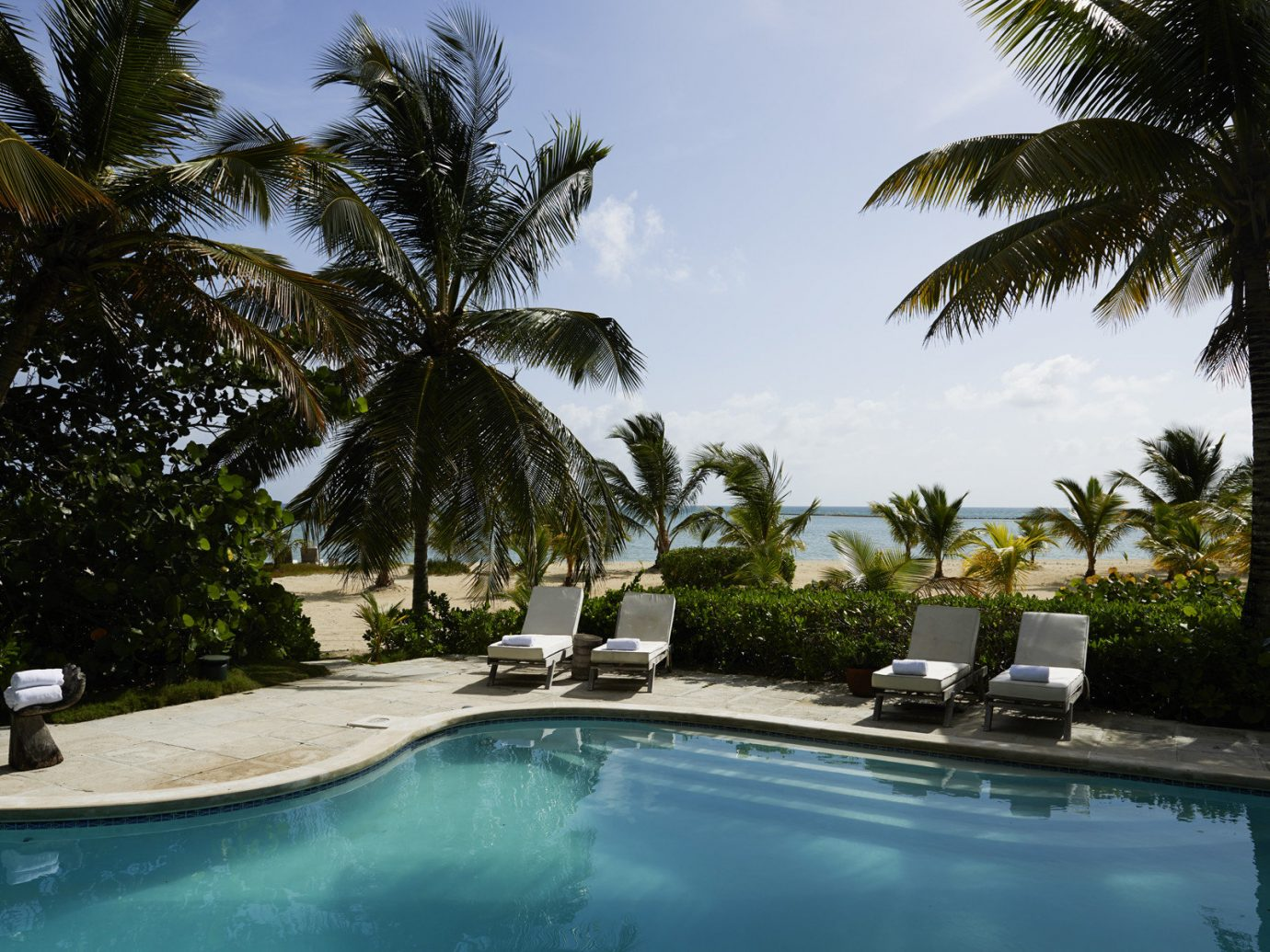 Pool at Kamalame Cay, Bahamas