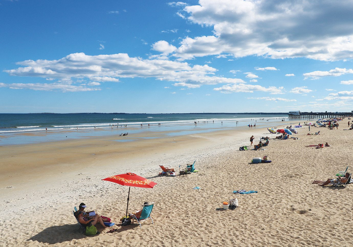 Secret Getaways Trip Ideas sky outdoor Beach ground water shore Nature body of water Sea sand Coast Ocean horizon vacation people wind wave bay material day sandy several